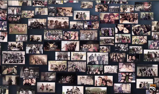 Watch: Celebrating Friendship – Collage of childhood memories