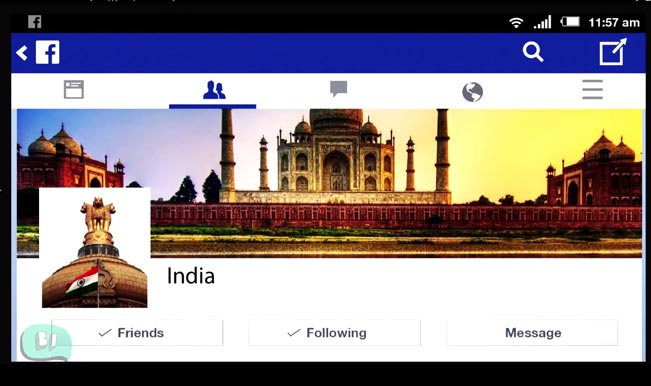 Celebrate Independence Day with India's Facebook Timeline