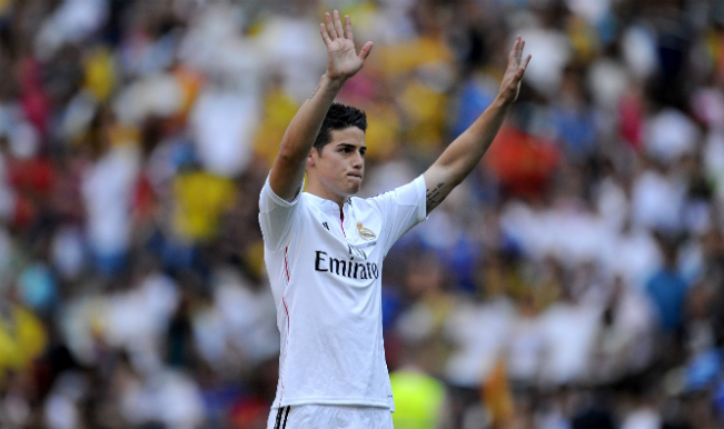 Rodriguez set for Real Madrid bow in Super Cup
