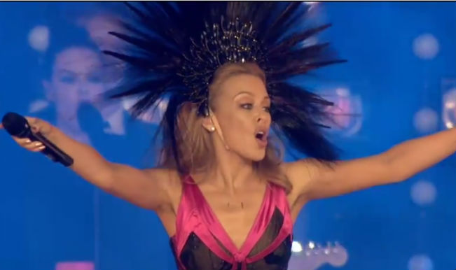Commonwealth Games 2014: Watch Kylie Minogue's performance at the closing ceremony