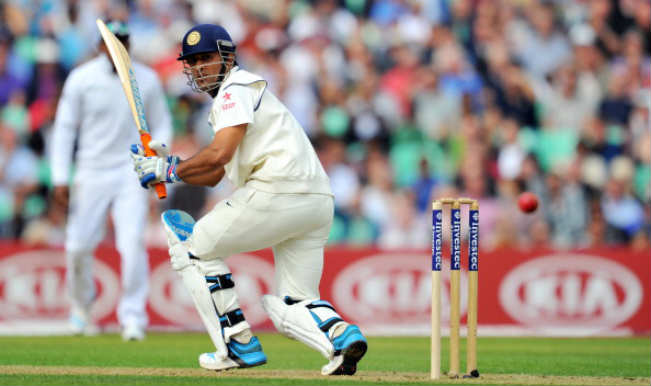 Mahendra Singh Dhoni_The Oval Test