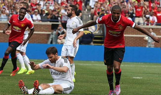 International Champions Cup 2014 match: Manchester United beats Real Madrid 3-1 to reach finals