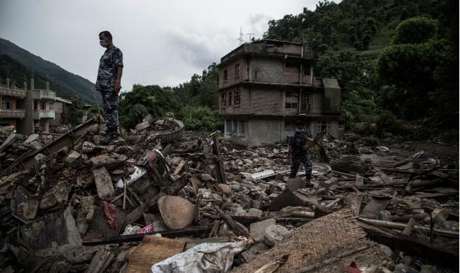 nepal flood