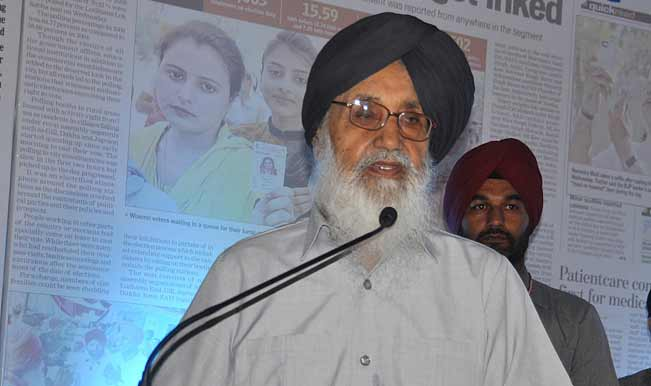 Punjab-Chief-Minister-Parkash-Singh-Badal-addresses-during-a-function-in-Chandigarh-on