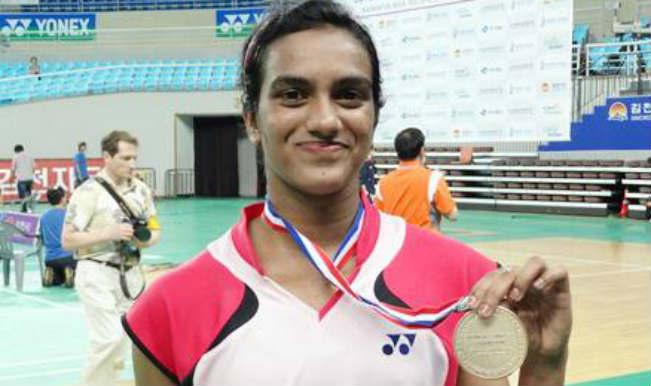 Pusarla Venkata Sindhu joins Puthenpurayil Chandrika Thulasi, Parupalli Kashyap,Kidambi Srikanth in Commonwealth Games 2014 quarters