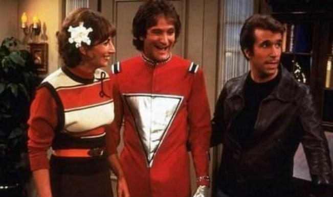Robin Williams in Happy Days