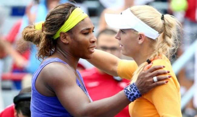 Serena Williams_Caroline Wozniacki