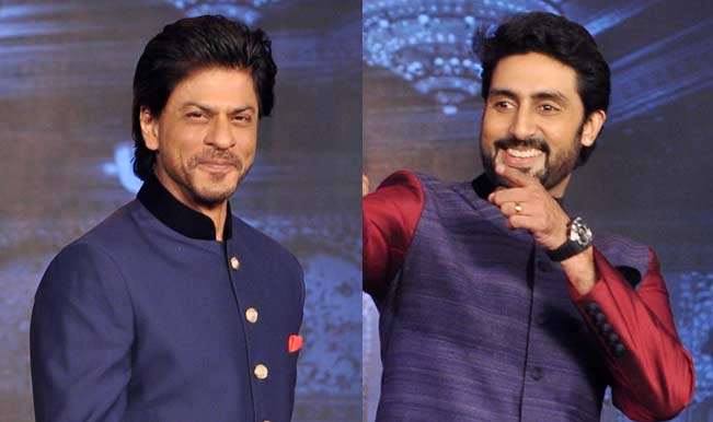 Shah Rukh Khan's Happy New Year trailer launch: New look Abhishek Bachchan steals the show!