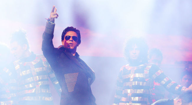Shah Rukh Khan was blasted for dancing with a Policewoman.