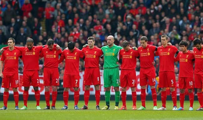 The Liverpool Team at a match