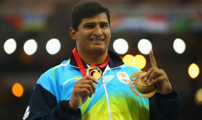 Vikas Gowda_Gold Medallist at Commonwealth Games 2014
