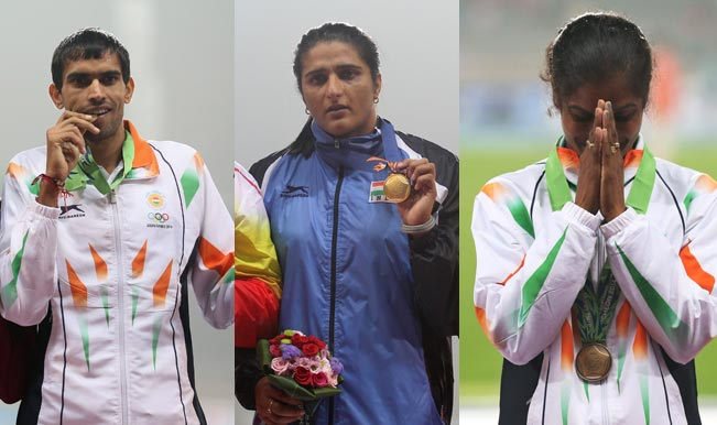 Asian Games 2014 Athletics Updates: Seema Punia bags Discus Throw gold as runners clinch bronze in men's 3000m steeplechase and women's 1500m race