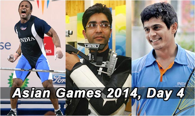Asian-Games-2014,-Day-4