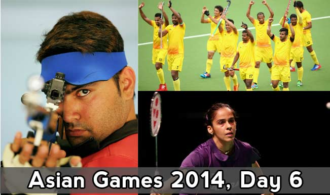 Asian-Games-2014,-Day-6