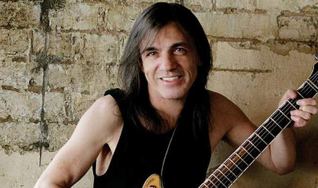 IMG MALCOLM YOUNG, AC/DC Guitarist and Co-Founder