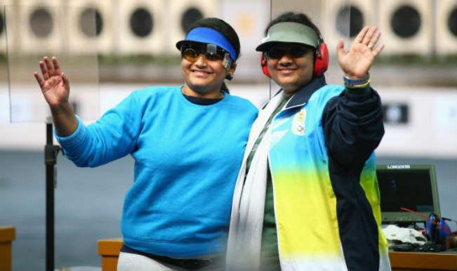 Rahi Sarnobat and Anisha Sayyed