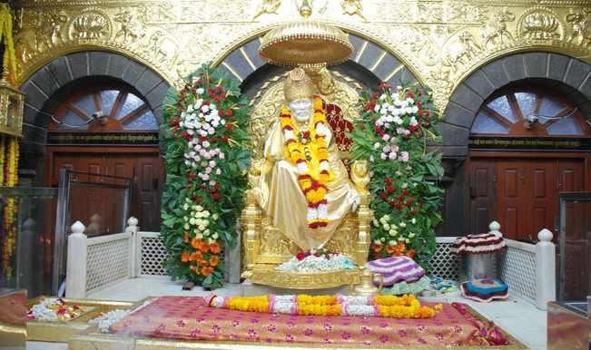 Shirdi Sai Baba temple idol