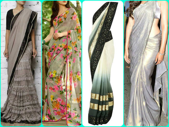 Navratri Day 3 Color Grey Top 6 Style Options That You Can Easily Pull Off