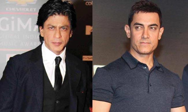Shahrukh Khan calls Aamir Khan 'Aadha Actor' on Slam! The Tour