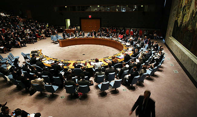 United Nations Security COuncil meet