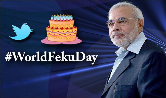 Narendra Modi turns 64: Top tweets on #WorldFekuDay