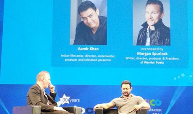 Aamir Khan at MIPCOM 2014