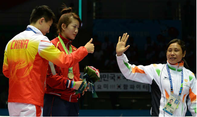 Boxing campion Sarita Devi