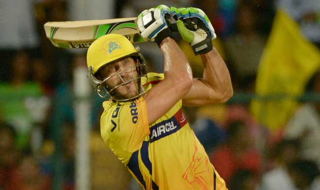 Chennai-Super-Kings-player-Faf-du-Plessis-in-action-during-53rd-match-of-IPL-2014-between-Chenna