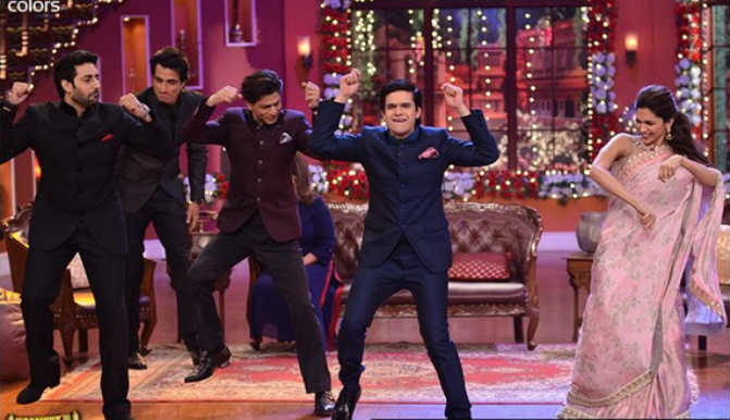 #ComedyNightsWithHNY: Happy New Year team go gaga over their upcoming festive release
