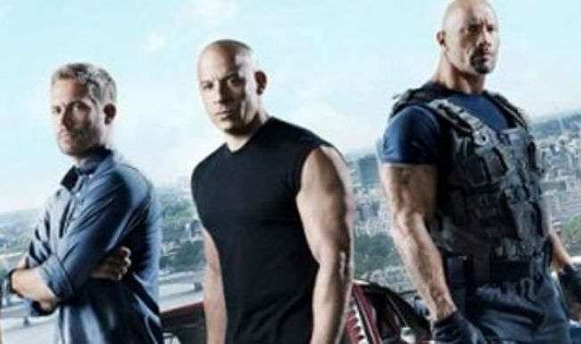 Furious 7 Sneak Peek: Vin Diesel and the rest drive supercars in Dubai