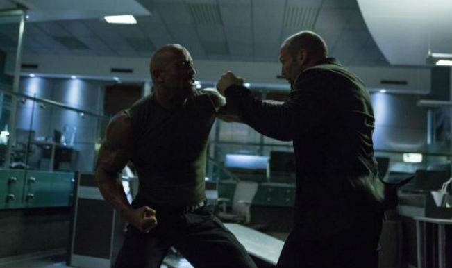Furious 7: Dwayne Johnson fights Jason Statham in latest image