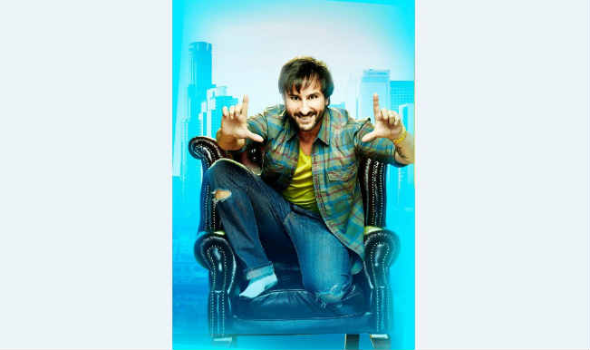 Happy Ending First Look: Saif Ali Khan is in all smiles as a Hollywood writer 'Yudi'