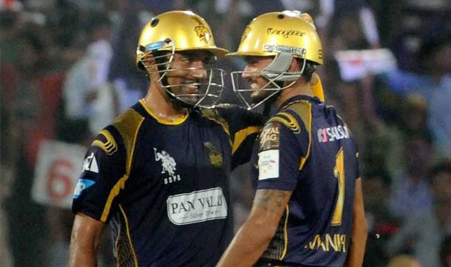 Robin Uthappa and Manan Vohra