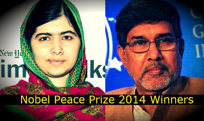 Nobel Peace Prize Winners 2014 Kailash Satyarthi and ...