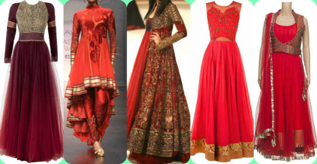 Image result for Anarkali suits collage