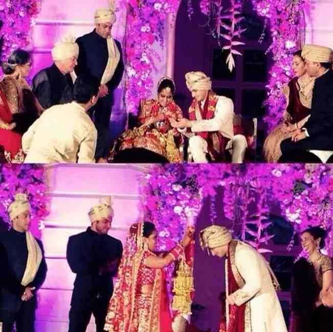 Salman Khan's sister Arpita Khan marries Ayush Sharma: See exclusive pictures!