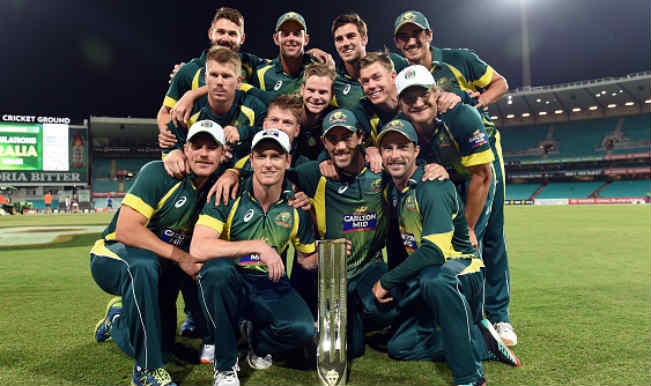 Australia team after winning the series against South Africa123