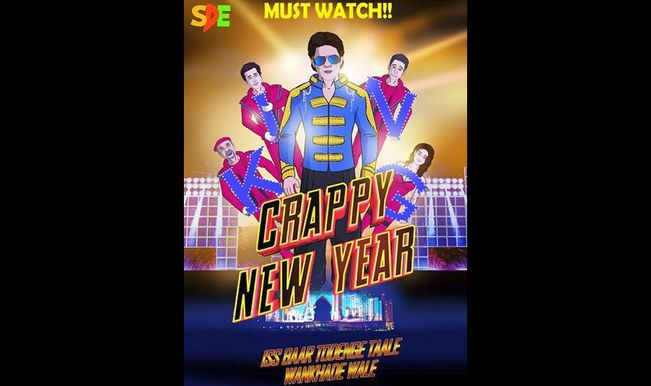 Shah Rukh Khan's Happy New Year or Crappy New Year? Watch hilarious spoof of the film!