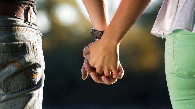 boy and girl dating