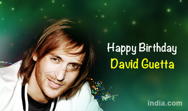 David Guetta Birthday Special: Top 5 songs from his DJ