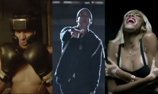 Eminem's new song Guts Over Fear featuring Sia: Watch ...