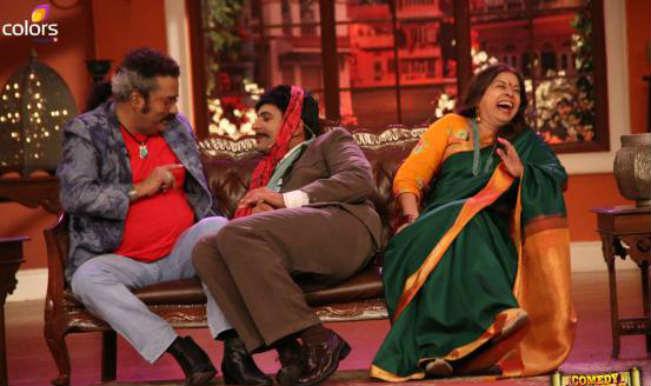 the  Hariharan Nights of Comedy Rekha Bhardwaj on and sets