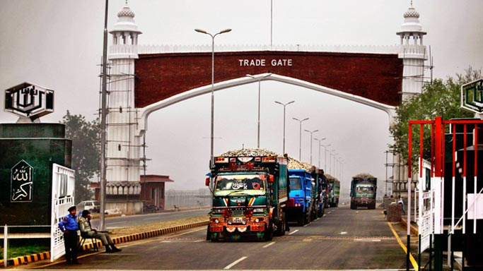 pak india trade relationship between united