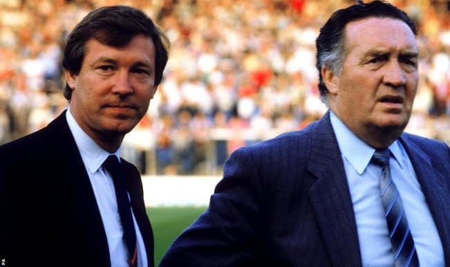 jock stein and alex ferguson