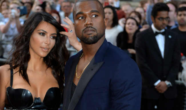 Kanye West and kim2
