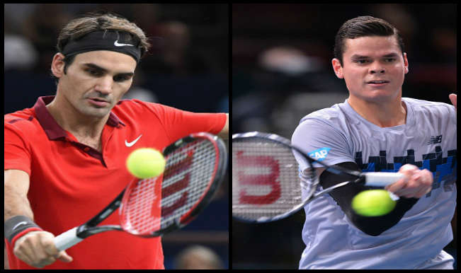 Roger Federer vs Milos Raonic