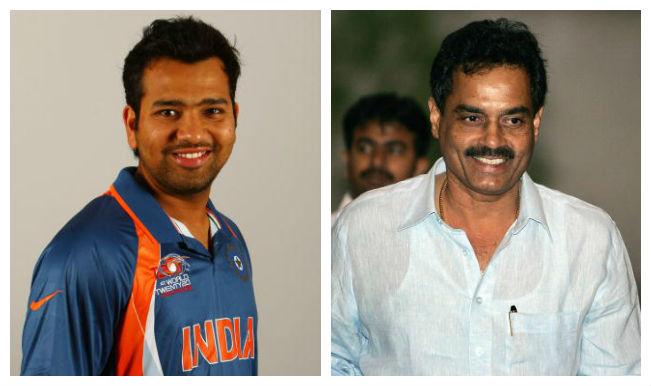 Rohit Sharma and Dilip Vengsarkar