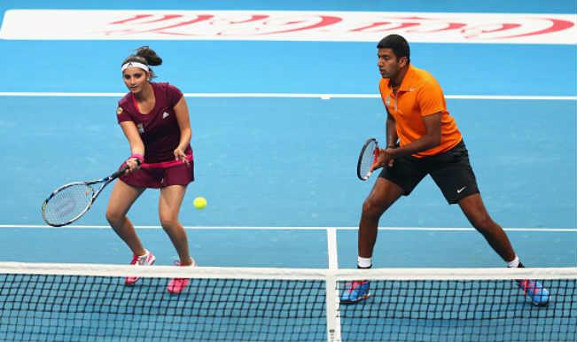 Sania Mirza and Rohan Bopanna