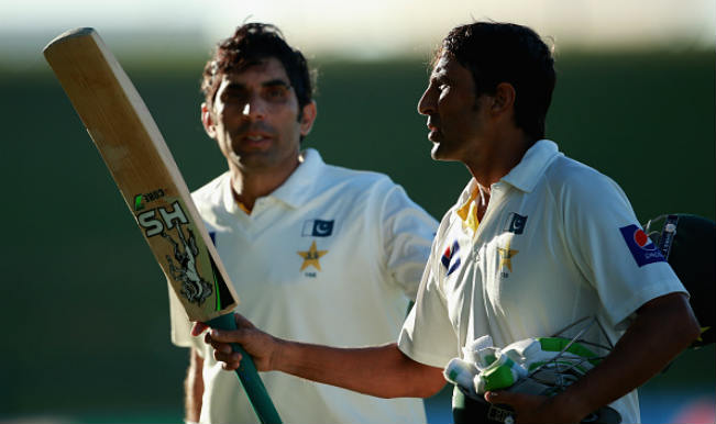Younis Khan and Misbahul Haq