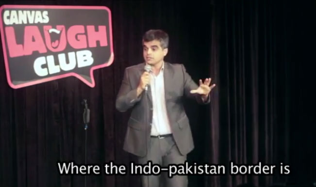 Comedian Atul Khatri tickles your funny bone by cracking hilarious jokes on Indo-Pak Wagah Border